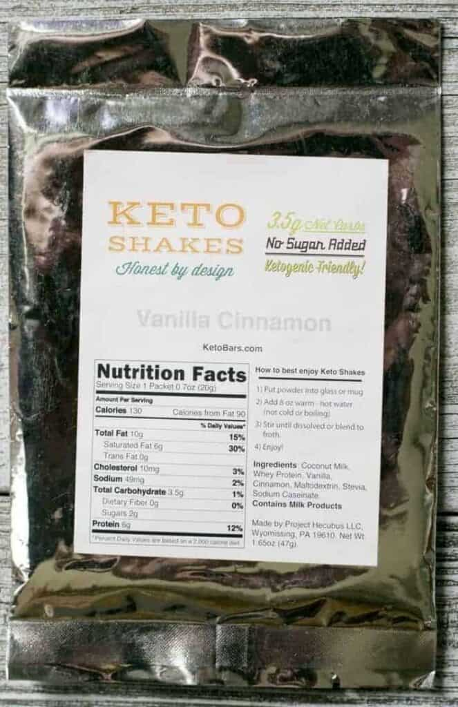 June 2016 Keto Krate Box Opening Review