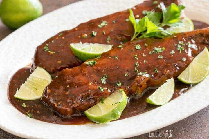 Low carb crock pot sweet lime ginger pork