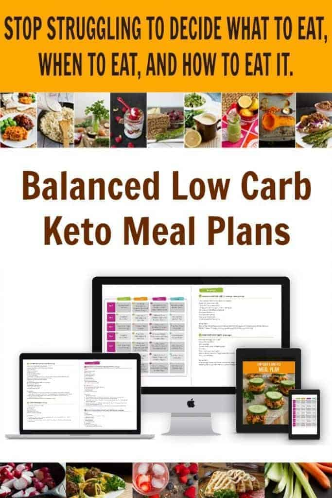Low carb keto meal plans can eliminate the time-consuming stress and preparation necessary to successfully follow a low-carb high-fat diet.