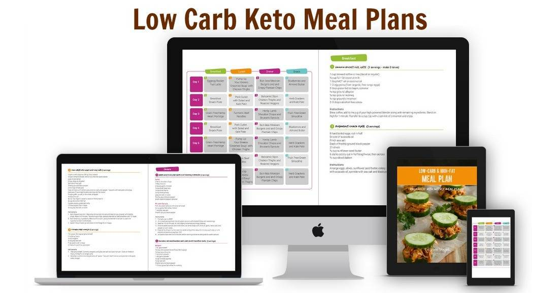 Low Carb Keto Meal Plans Low Carb Yum