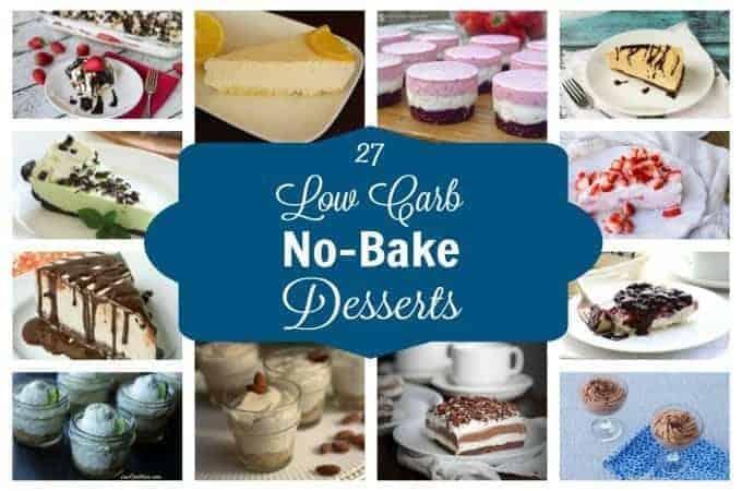 Low carb no bake desserts