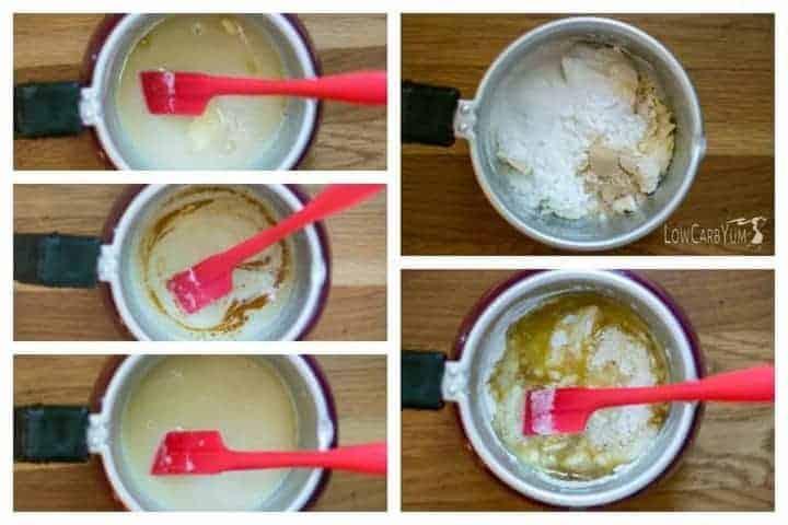 Low carb sugar free white chocolate bars