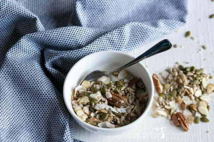 Muesli low carb cereal