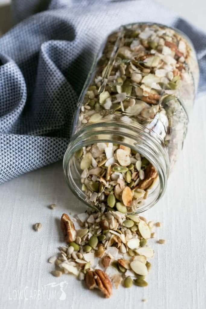 Muesli low carb cereal