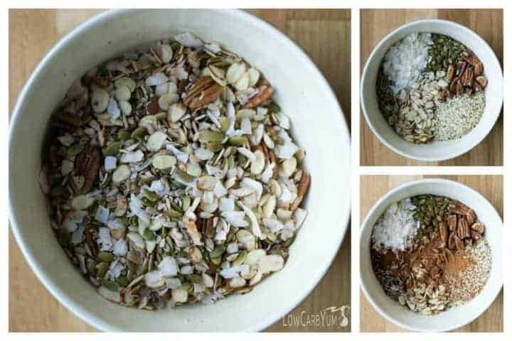 muesli low carb cereal gluten free paleo low carb yum. Black Bedroom Furniture Sets. Home Design Ideas
