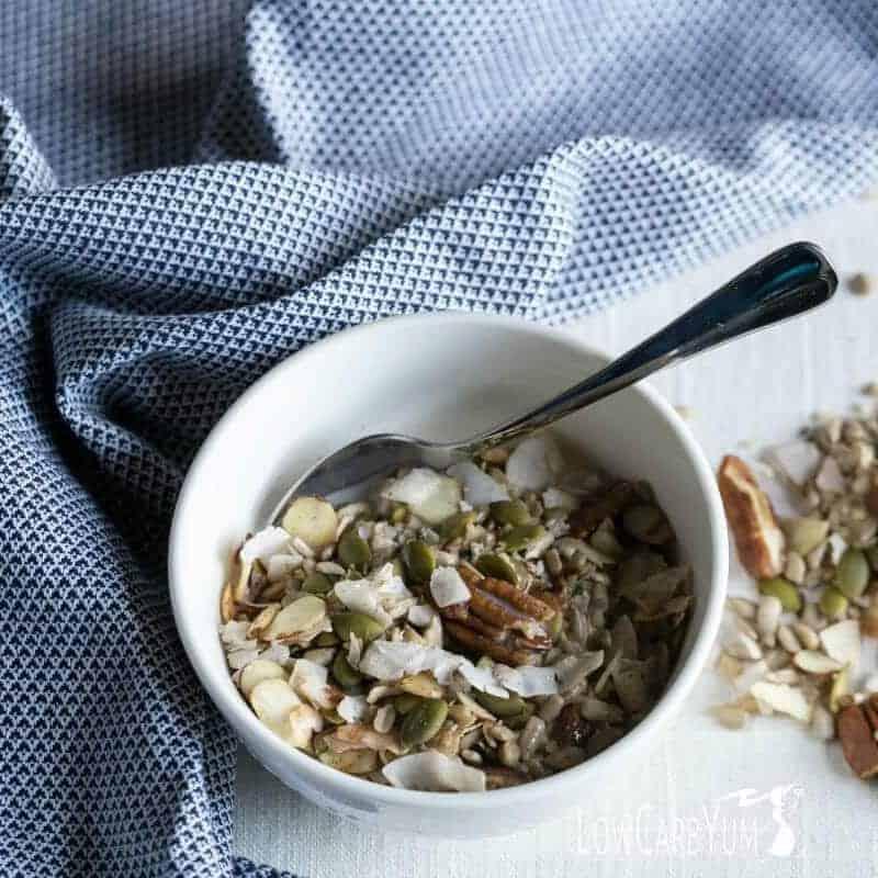Muesli Low Carb Cereal - Gluten Free Paleo
