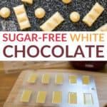 sugar free white chocolate recipe