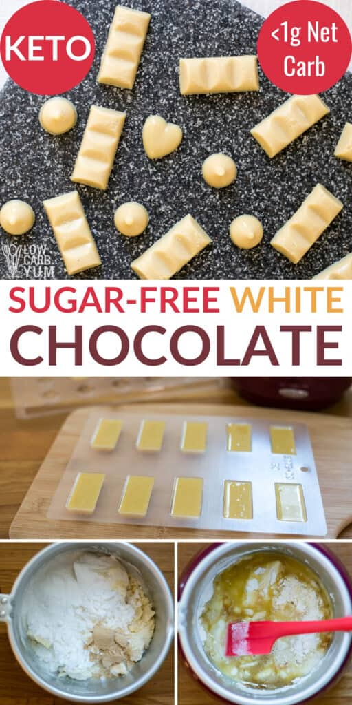 sugar free white chocolate recipe