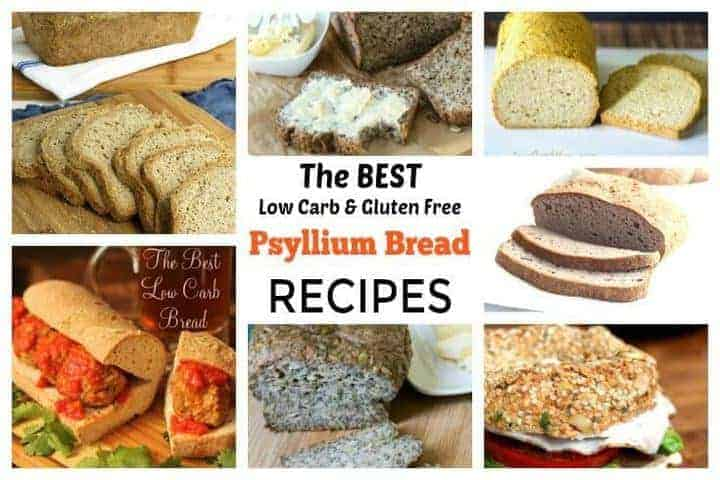 psyllium bread recipes