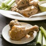 Slow cooker crock pot Buffalo chicken drumsticks