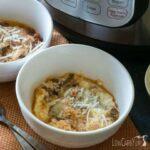 Pressure cooker Instant Pot no noodle lasagna