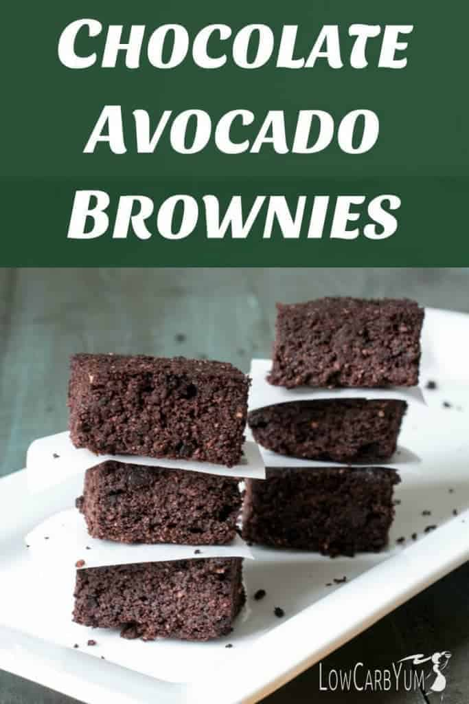 Keto Brownies Recipe (with avocado)