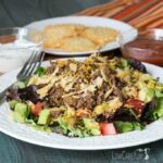 Low carb gluten free taco salad
