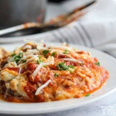 No Noodle Instant Pot Lasagna