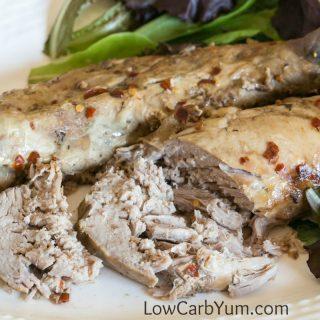 Crock Pot Balsamic Pork Tenderloin