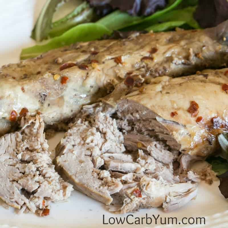 Crock Pot Balsamic Pork Tenderloin