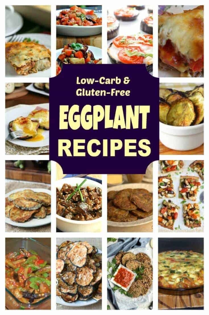 Are you looking for a keto friendly dish made with eggplant? You are sure to find a great one in this collection of low carb eggplant recipes. | LowCarbYum.com