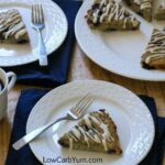 Low carb gluten free coconut flour blueberry scones