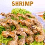 Low carb gluten free coconut shrimp