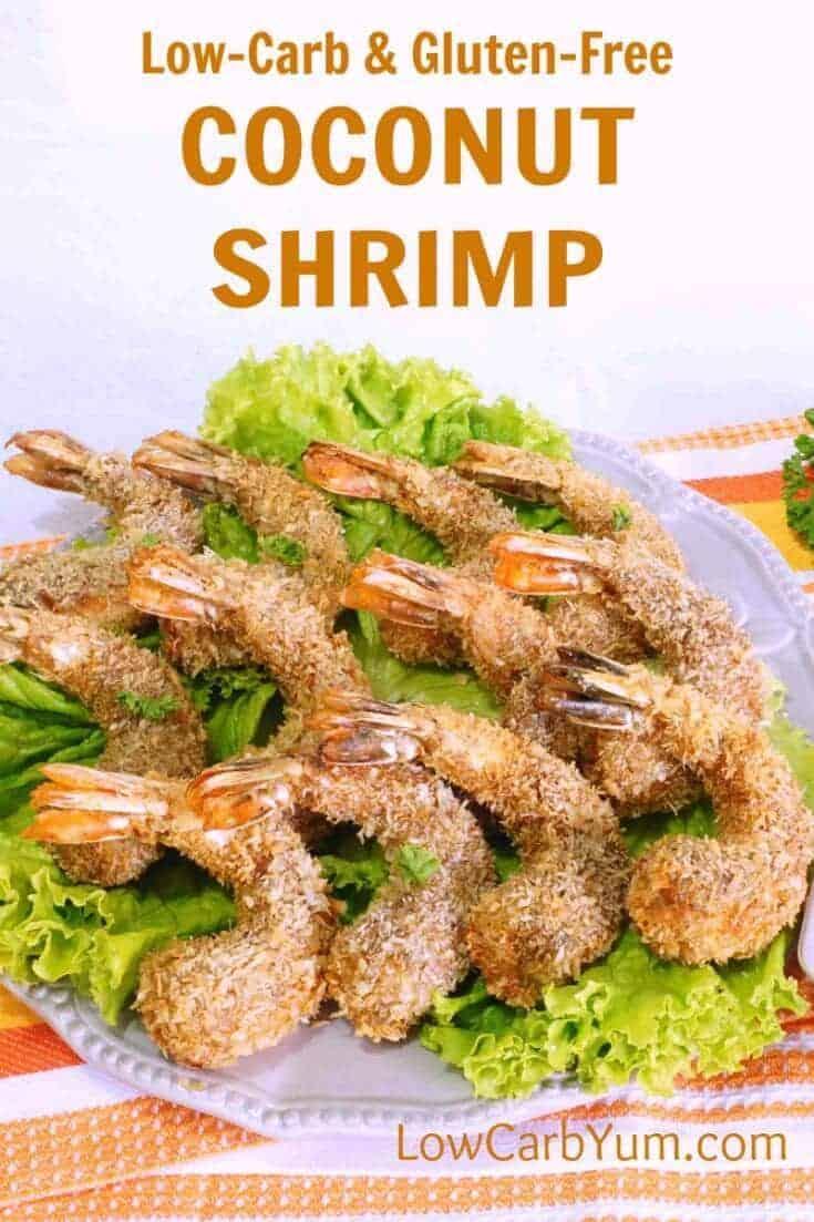 coconut shrimp on plate