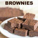 Low carb gluten free peanut flour brownies recipe