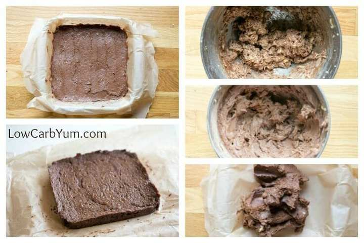 Low carb gluten free peanut flour brownies recipe