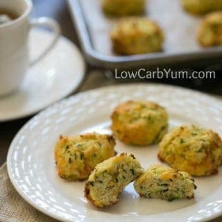Zucchini Drop Biscuits with Cheese – Gluten Free
