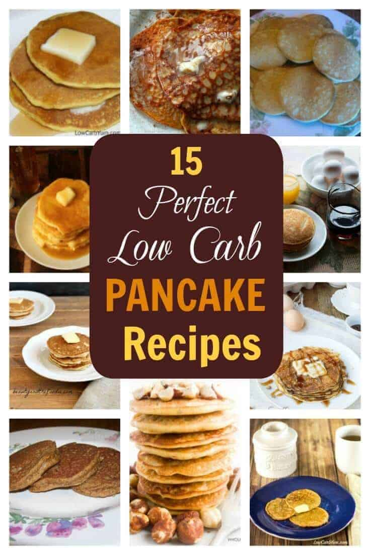 Are you still searching for the perfect low carb pancakes? Check out this collection of low carb pancake recipes and you'll be sure to find a winner!