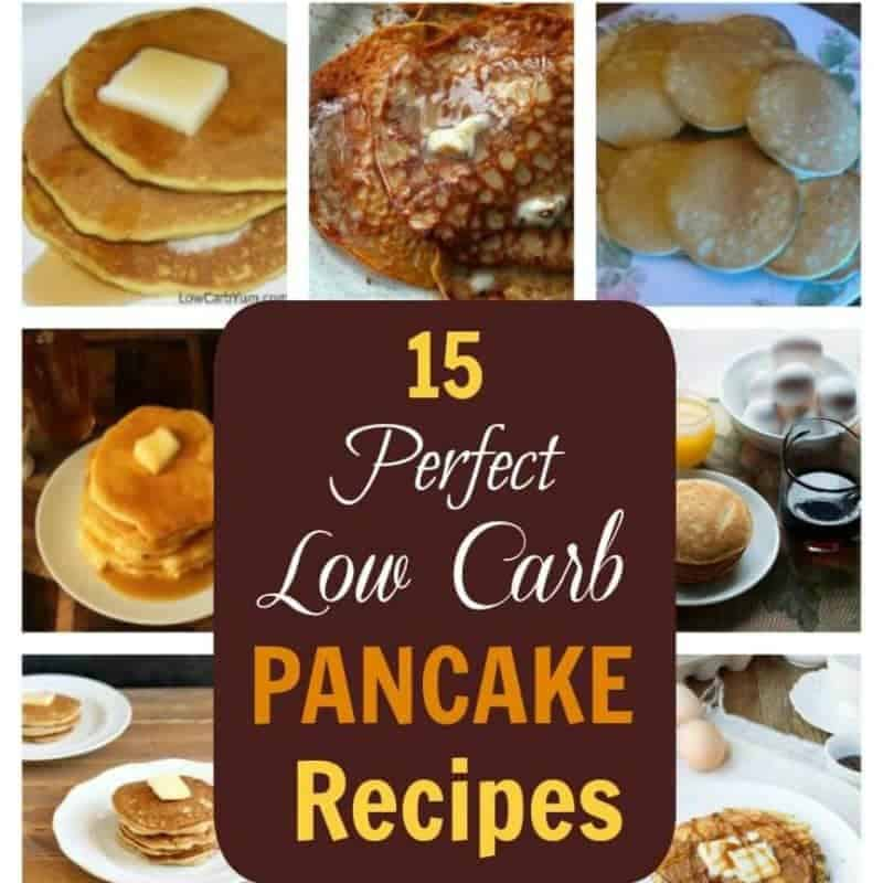 Low Carb Pancakes – 15 Perfect Recipes for Breakfast