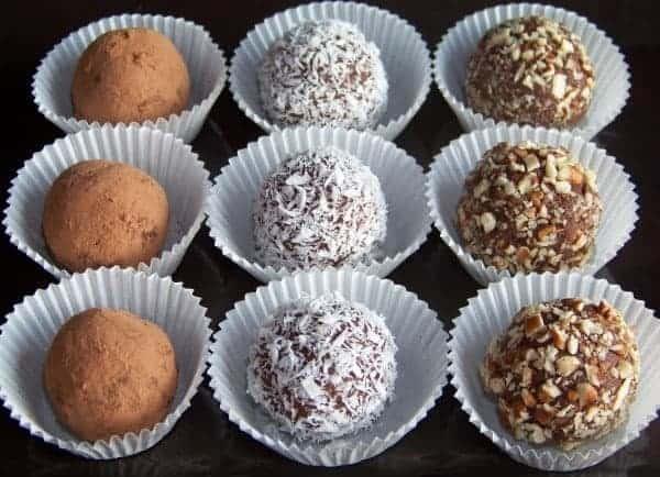 Sugar Free Almond Fudge Truffles