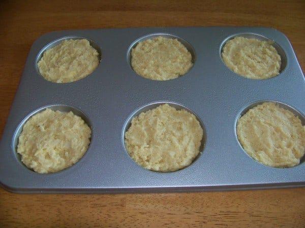 Whoopie Pie Batter in Muffin Top Pan