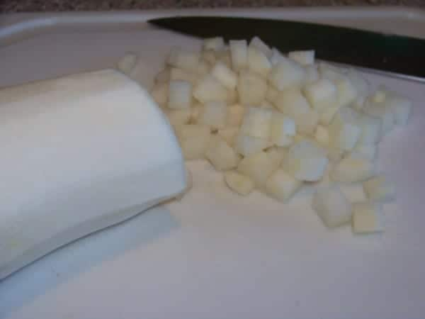 Chopped Daikon