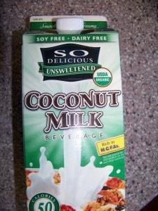 So Delicious Unsweetened Coconut Milk