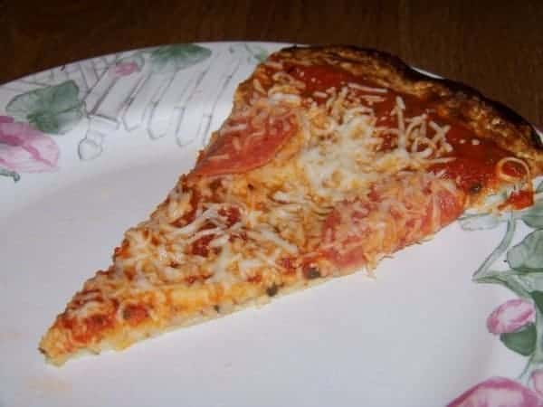 Low Carb Gluten Free Pizza