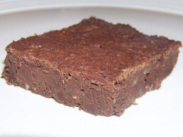 Low Carb Gluten Free Black Soy Bean Brownie