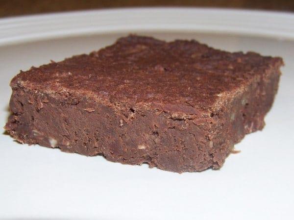 Low Carb Soy Bean Brownie