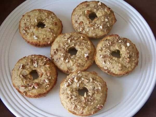 Banana Nut Muffin Donuts