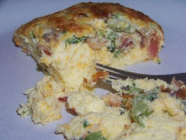 Broccoli and Bacon Egg Casserole