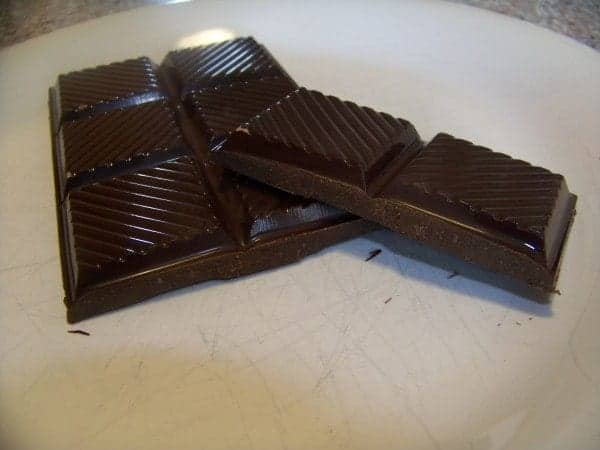 Sugar Free Chocolate Bar Sweetened with Stevia and Erythritol