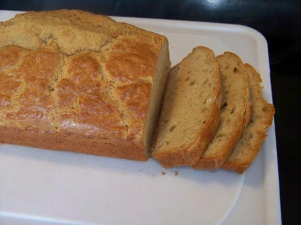 Low Carb Peanut Flour Bread