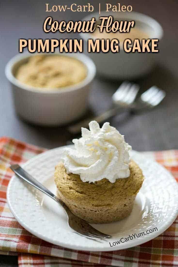 Low Carb Mug Cake Coconut Flour