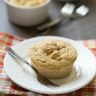 Coconut Flour Paleo Pumpkin Mug Cake – Gluten Free