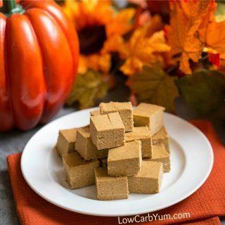Easy Pumpkin Fudge Recipe – Sugar Free and Paleo