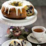 Gluten free lemon blueberry pound cake recipe