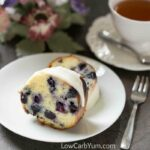 Gluten free lemon blueberry pound cake recipe