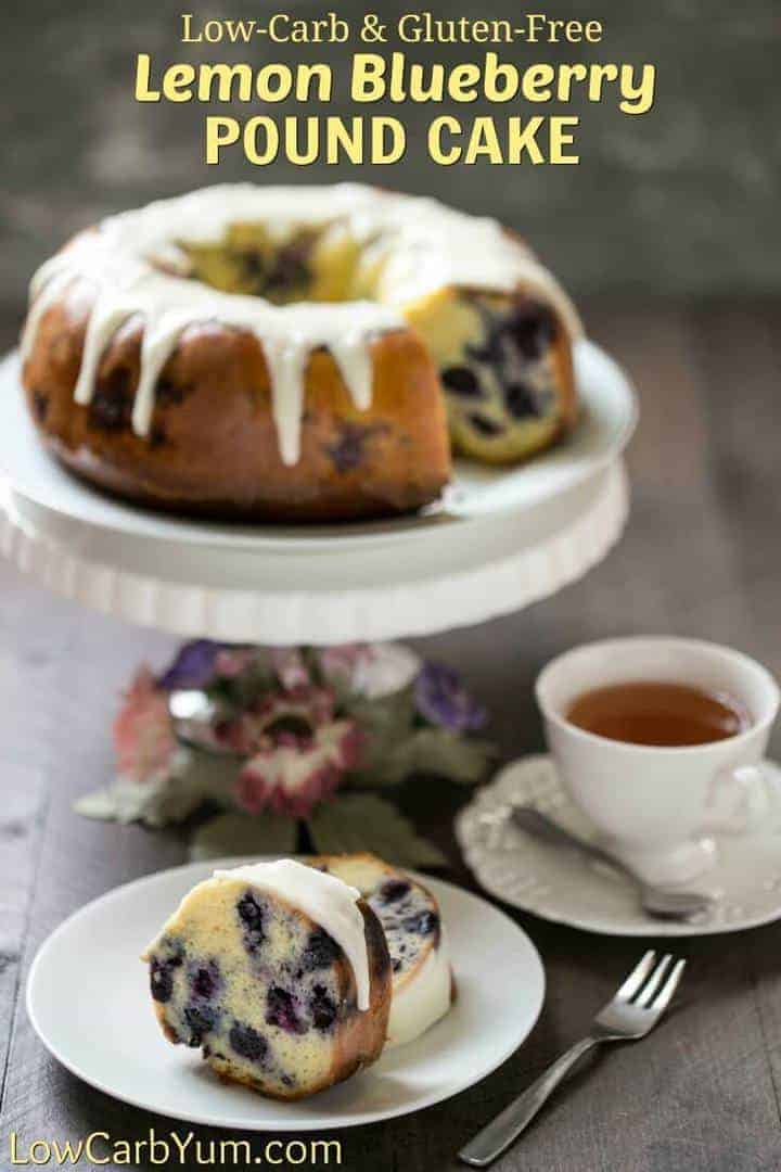 Easy blueberry pound cake recipe