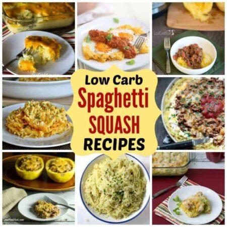 Low carb spaghetti squash recipes