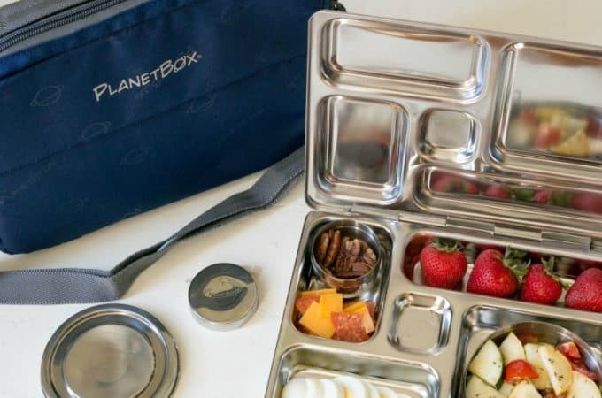 PlanetBox eco-friendly lunchbox review
