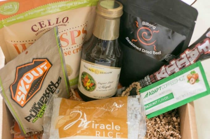 September 2016 Keto Krate Subscription Box Review