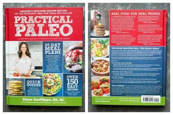 Slow-cooked salsa verde chicken from Practical Paleo cookbook